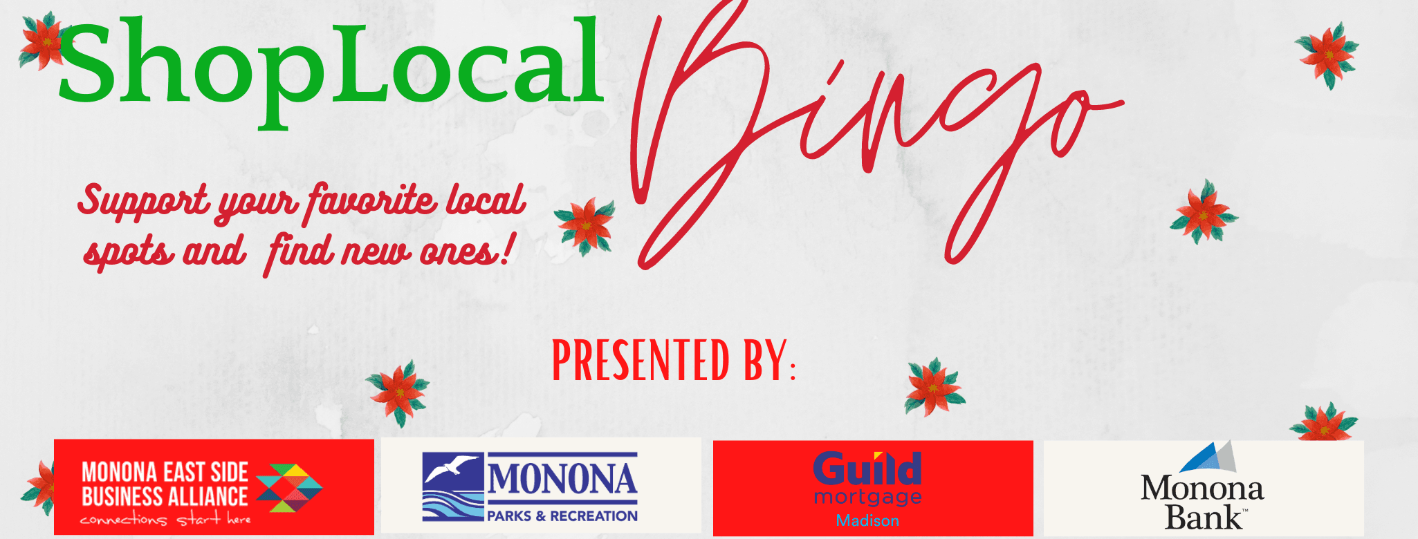 Shop Local Bingo