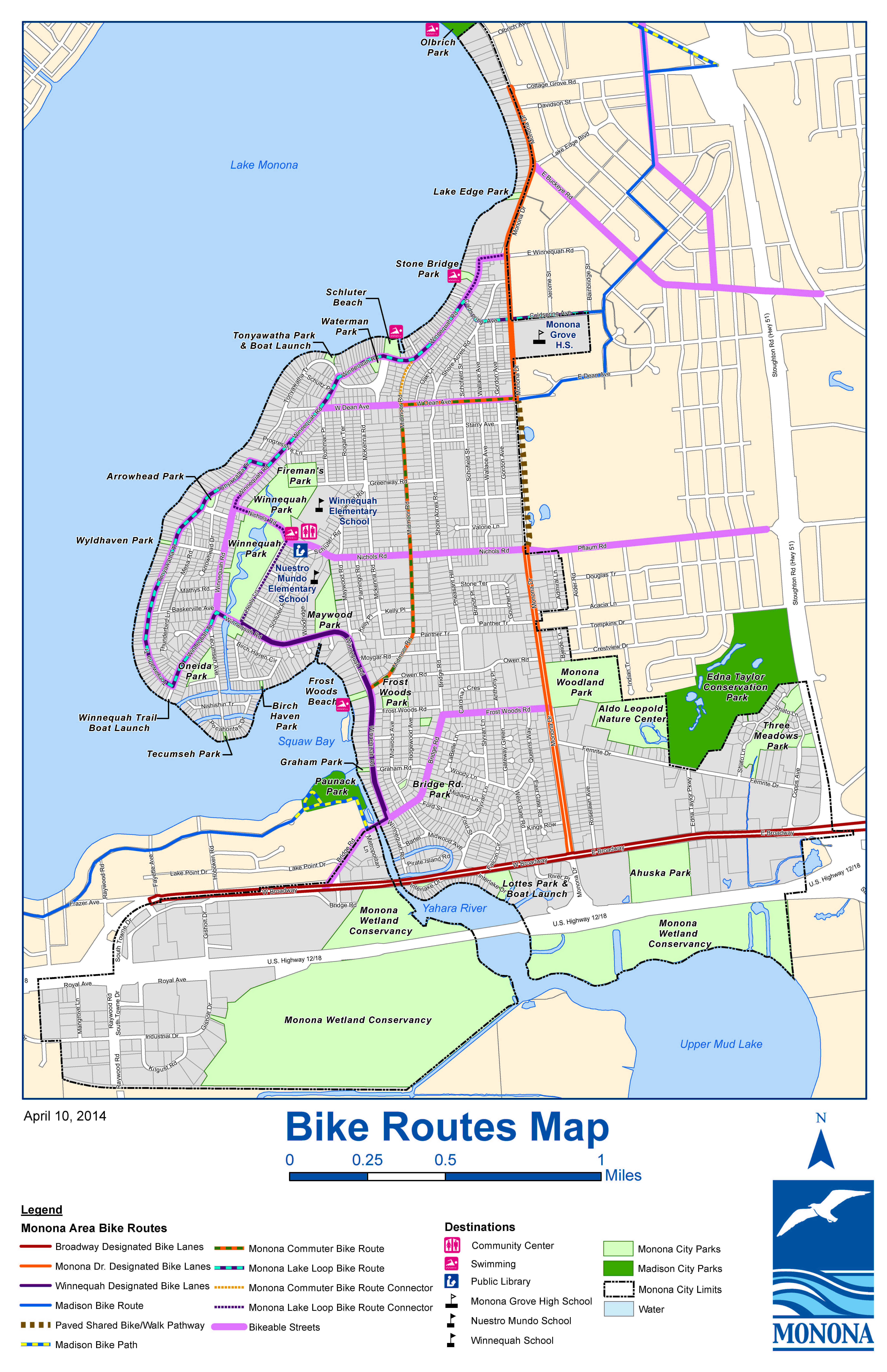 BicycleRouteMap2014