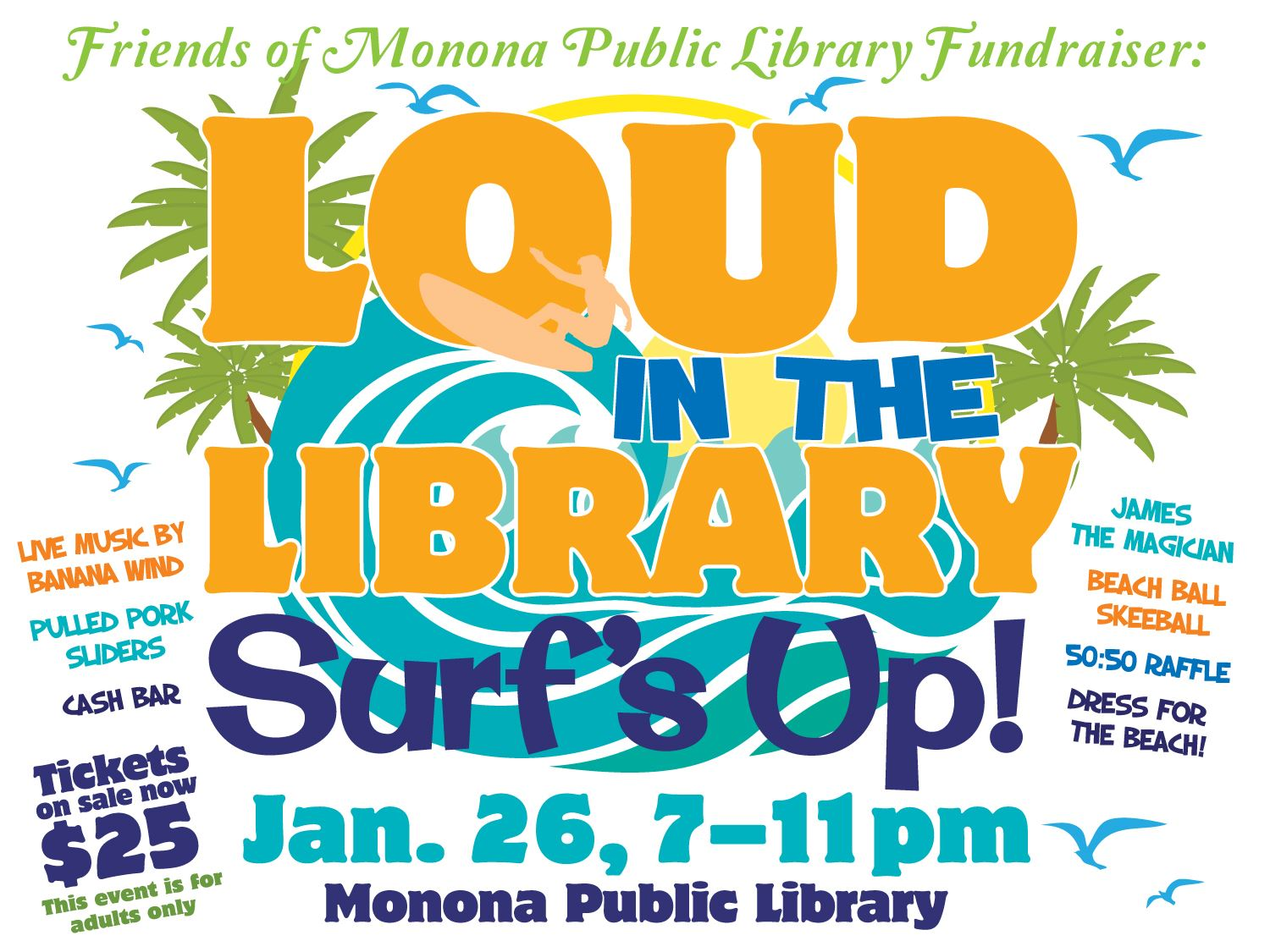 Loud in the Library_Surfs Up 2019